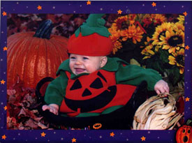 Baby Emily's first Halloween